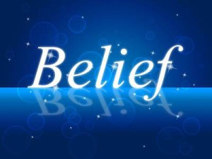 Manifestation depends on belief